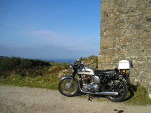 A lovely ride down the coast to Lands End